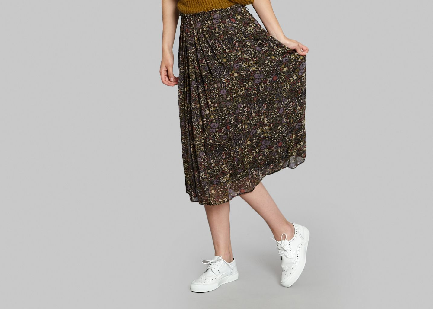 Floral Mid Skirt - Swildens
