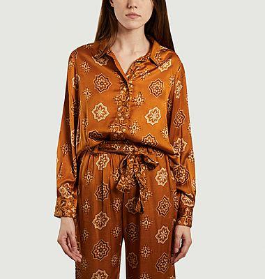 Elif Hemd mit Bandana-Muster