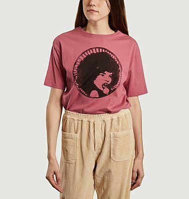T-shirt imprimé en coton bio Djelo