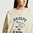 matière Sweatshirt imprimé Duda Swildens x Snoopy - Swildens