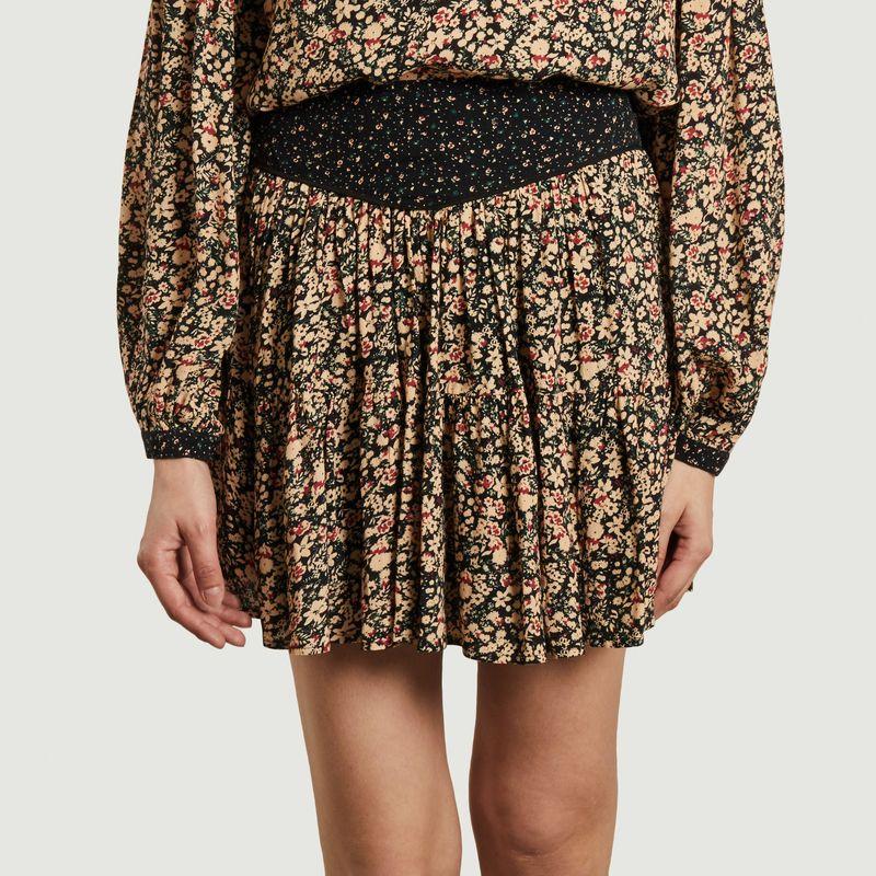 Mini-jupe imprimé fleuri Elisha - Swildens