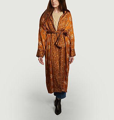 Emilie Bandana Muster langer Kimono