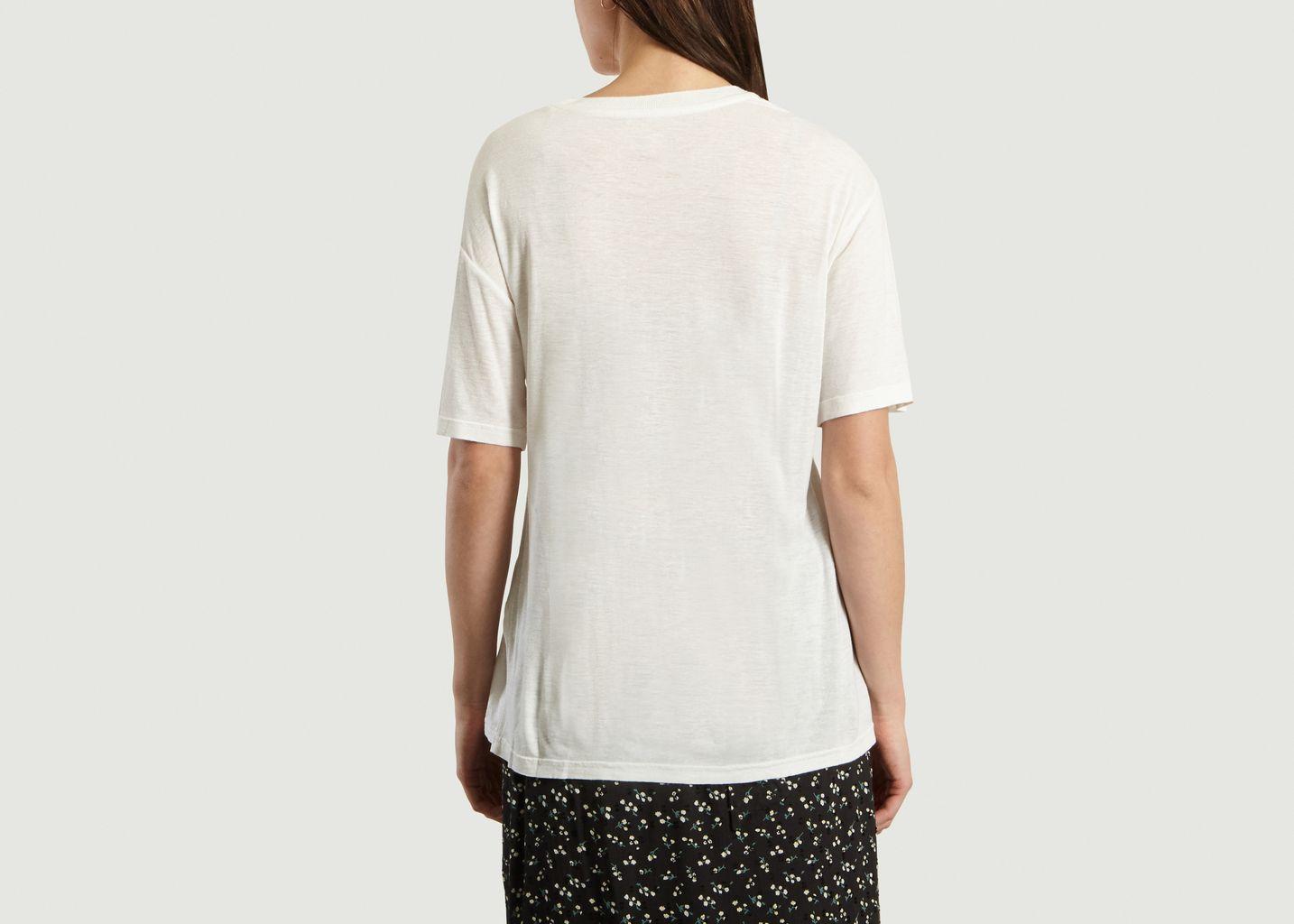 T-Shirt Print Ti Amo En Coton Et Lin Vigone - Swildens