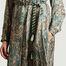 matière Robe-chemise longue imprimé cachemire Chine - Swildens