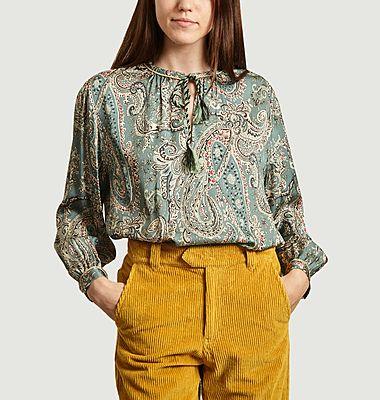 Croatie Paisley print blouse