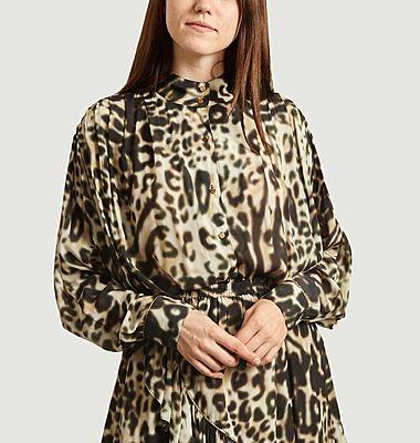 Caetano leopard print shirt
