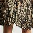 matière Jupe courte imprimé léopard Caracas - Swildens