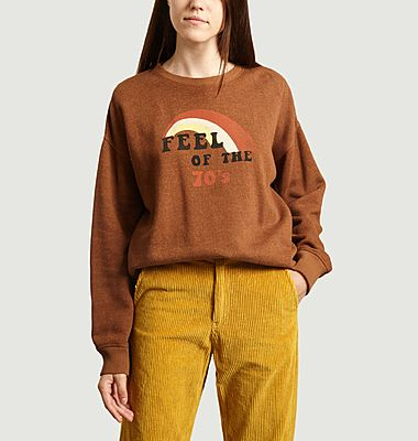 Sweatshirt imprimé Feel Of The 70's Coda
