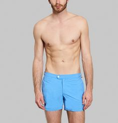Solid Swimming Trunks