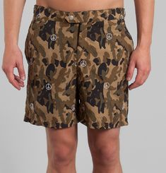 IPA Camo Swim Shorts
