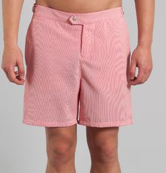 Ipa Seersucker Swim Shorts