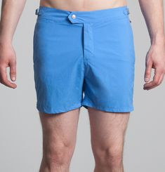 Solid Color Swimshorts