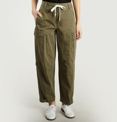 Cargo Twill Trousers