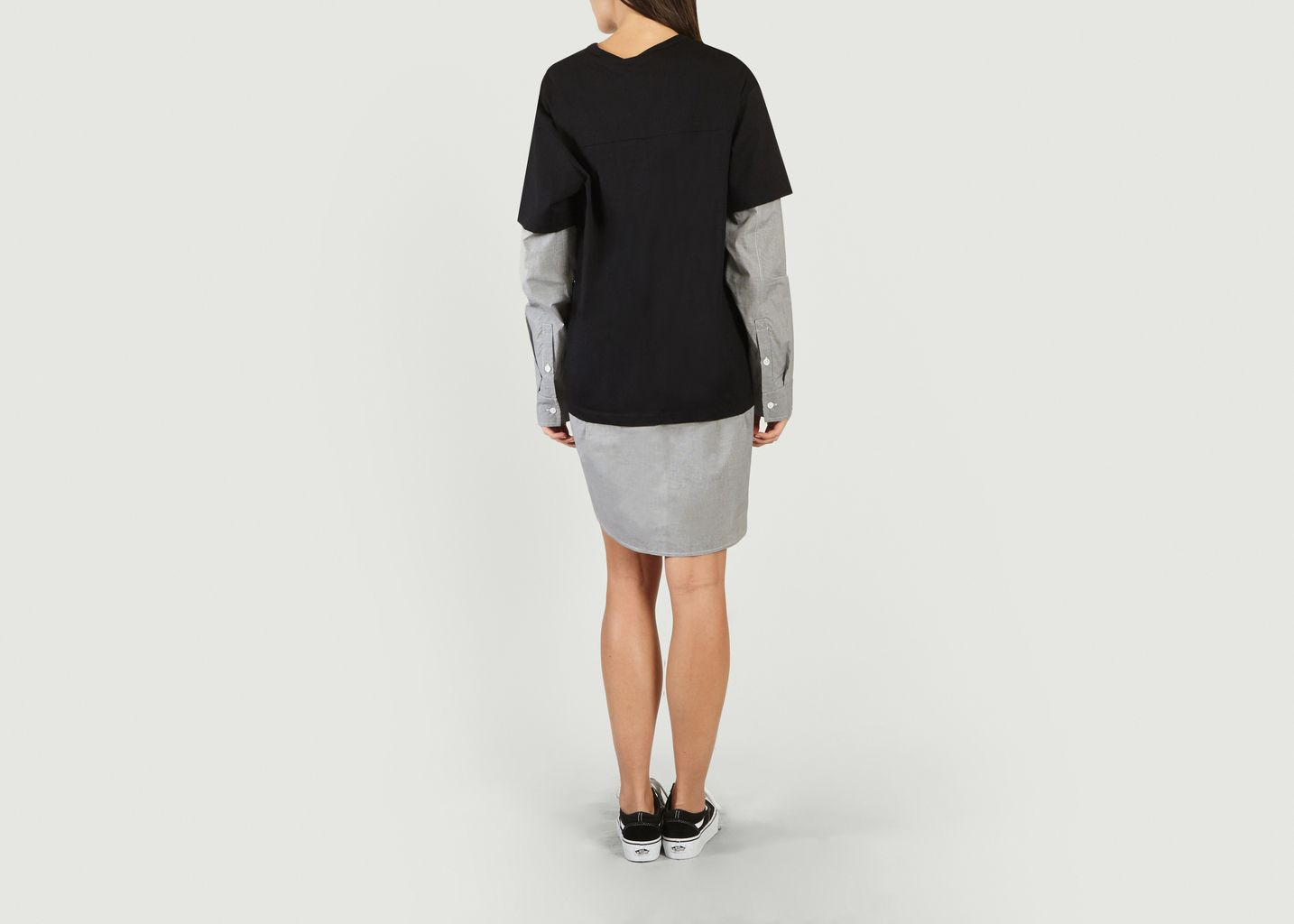 Sale T Shirt Shirt Dress Black T By Alexander Wang At 50 Lexception