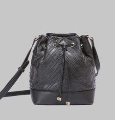 Charlotte Woven Bucket Bag