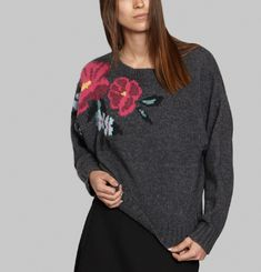 Pull Jacquard Floral