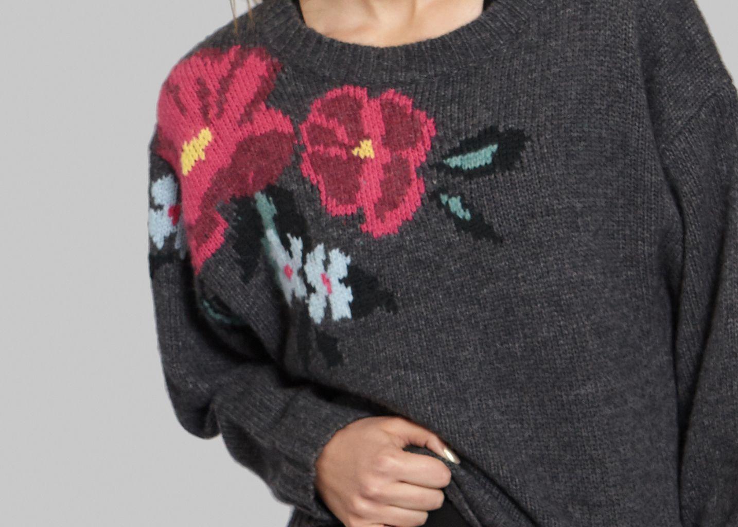 Pull Jacquard Floral - Tara Jarmon