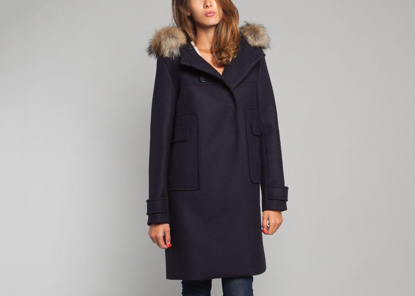 Manteau capuche tara jarmon