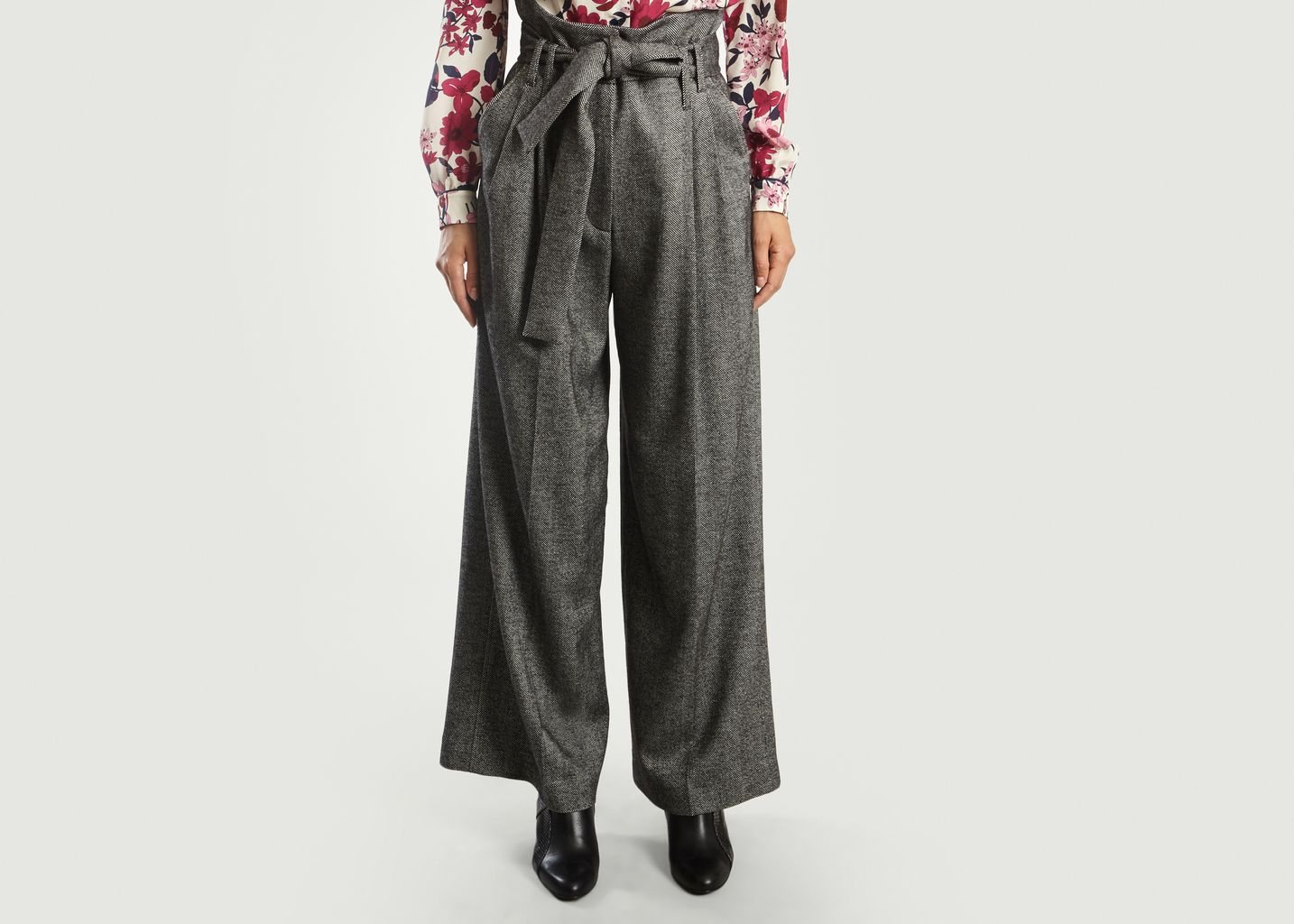 Chevron Large Trousers - Tara Jarmon