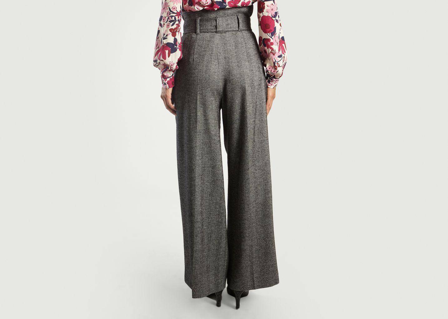 Chevron Large Trousers - Tara Jarmon