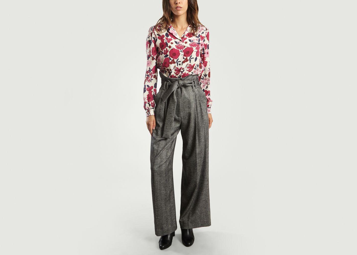 Pantalon Large Chevrons - Tara Jarmon
