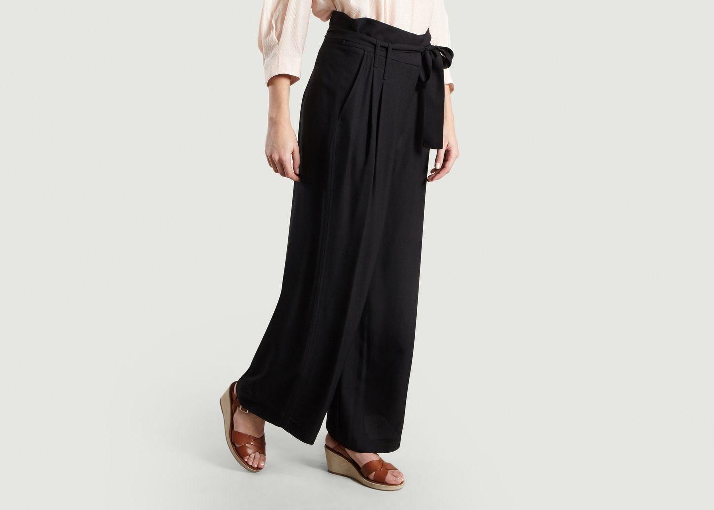 Pantalon Ample Ceinturé - Tara Jarmon