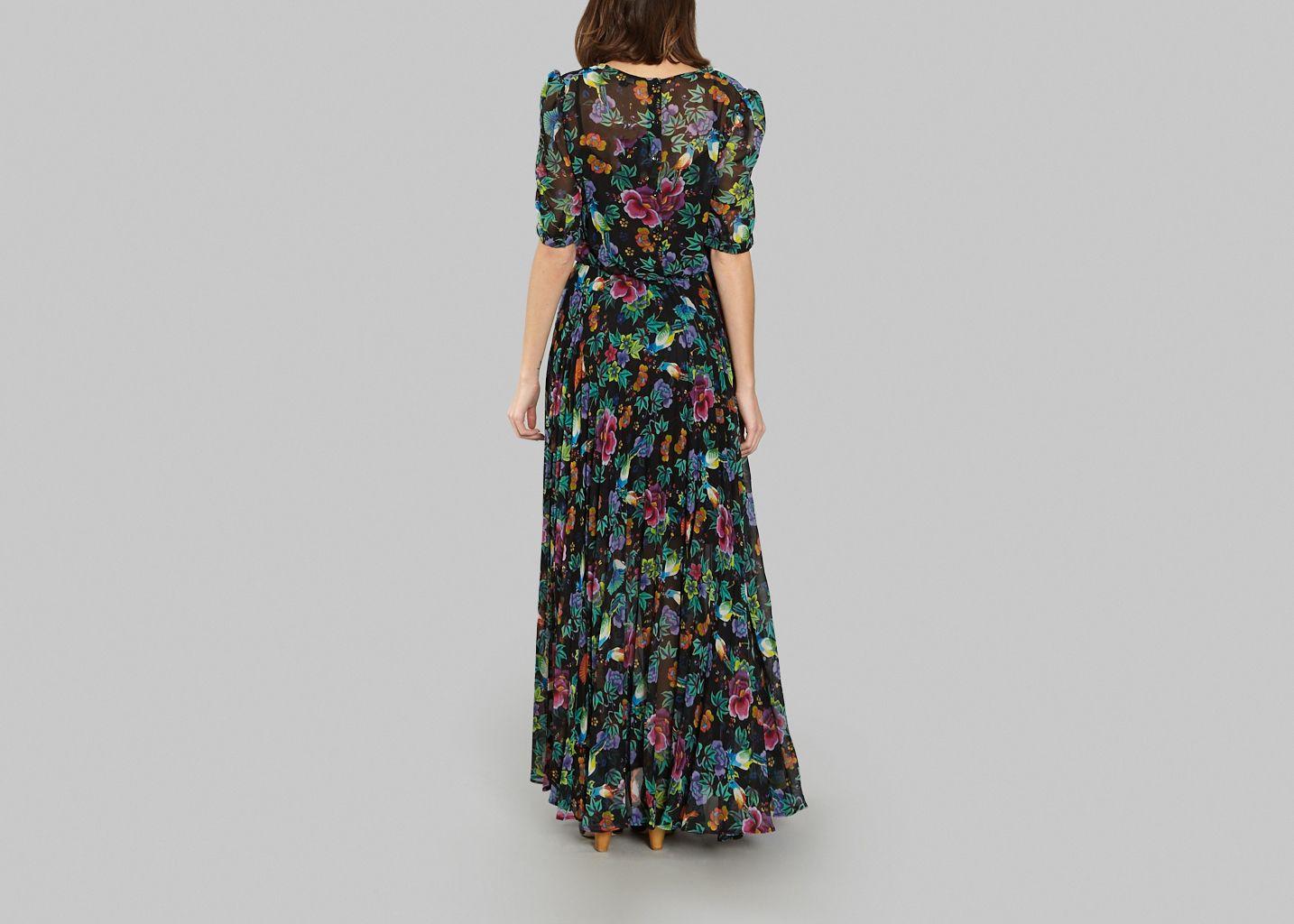 6a5492fe06e Sauvage Maxi Dress Black Tara Jarmon
