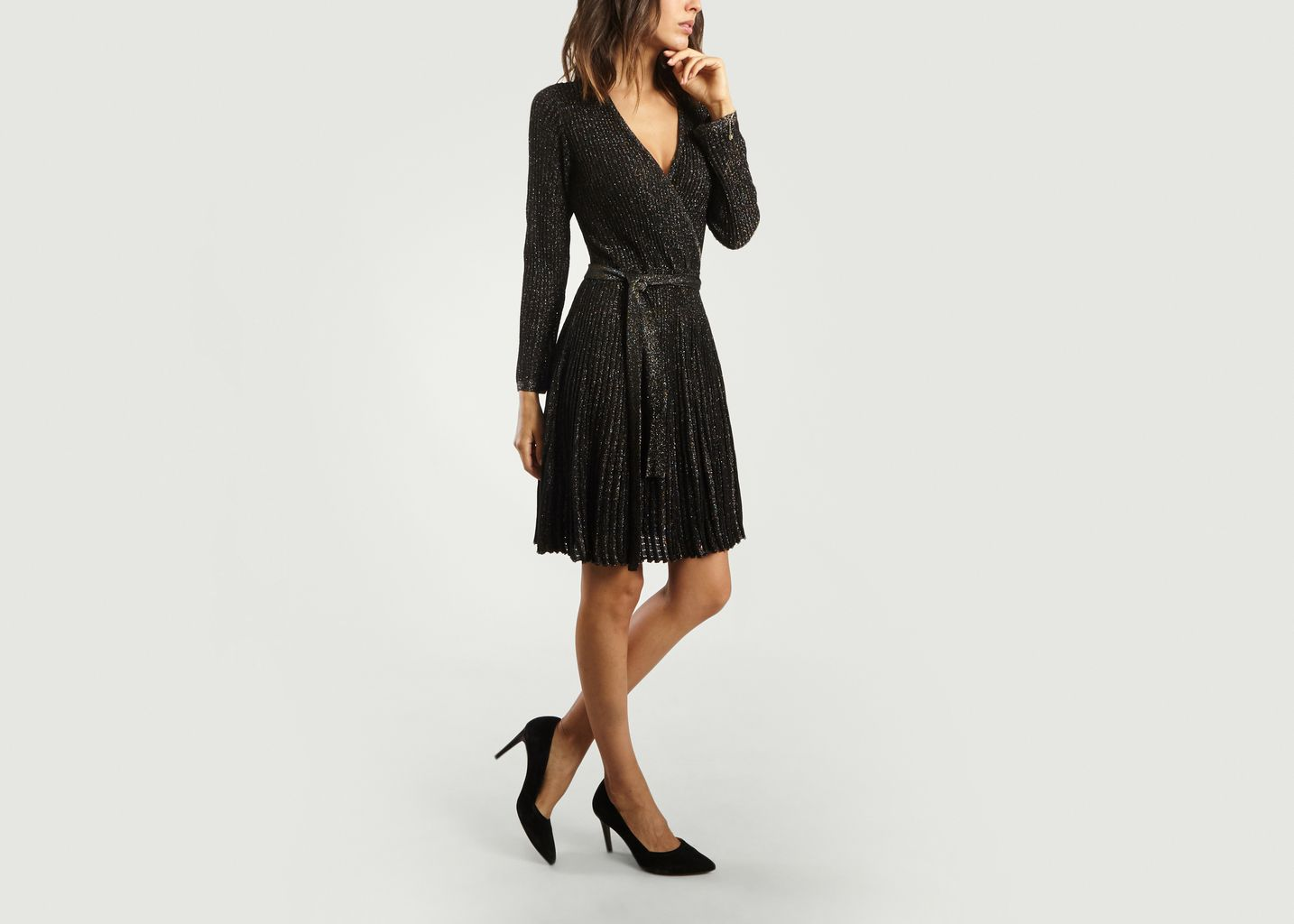 Robe Portefeuille en Lurex - Tara Jarmon