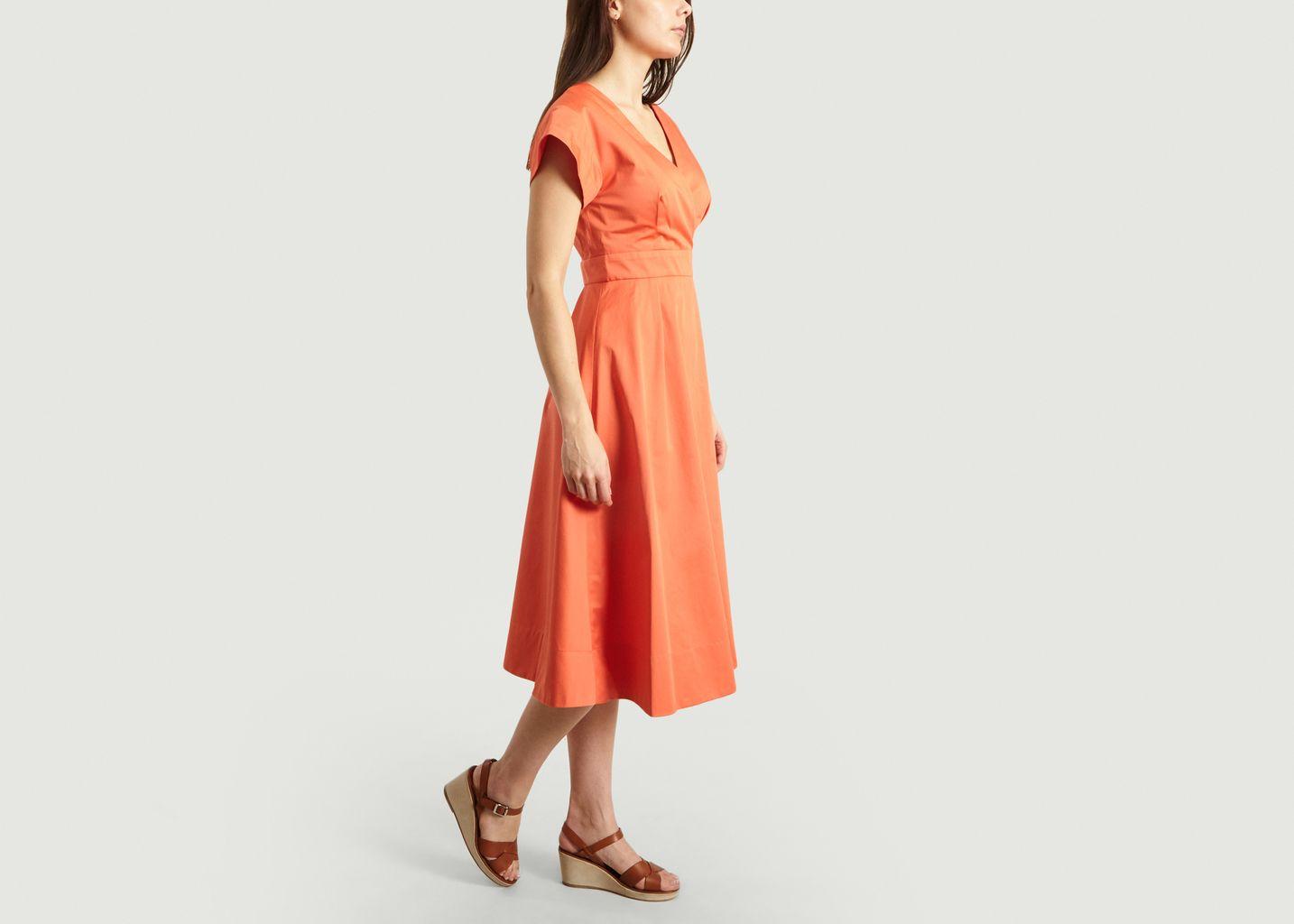 Robe Évasée Mi-Longue - Tara Jarmon