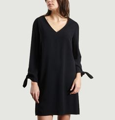 Bow Sleeve Dress