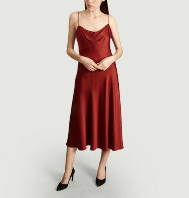 Robe Longue Satinée