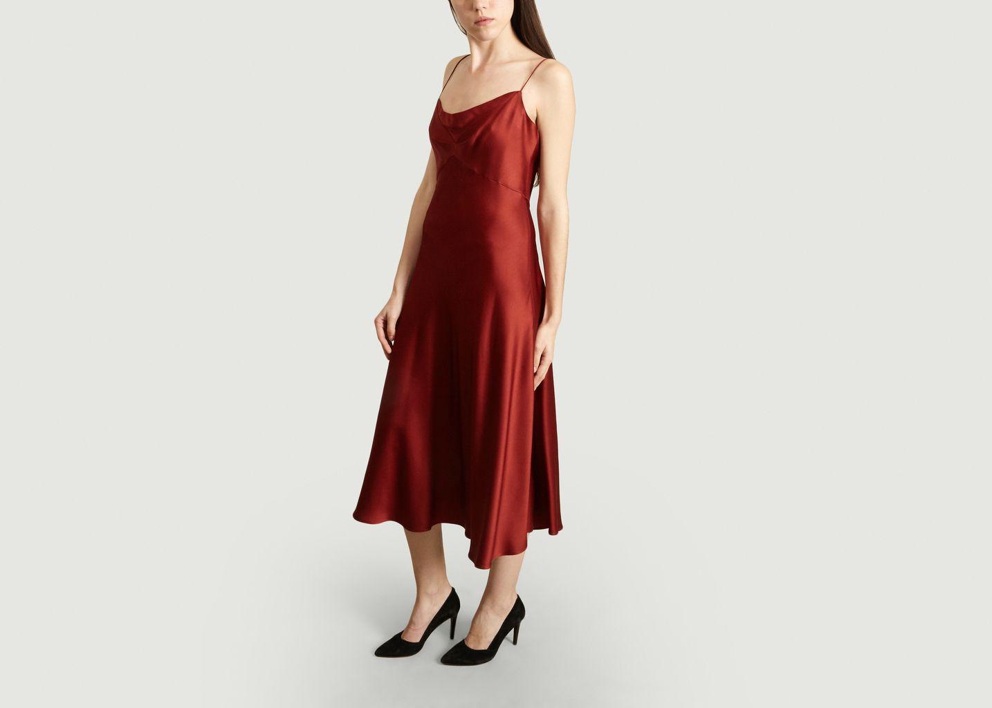 Robe Longue Satinée - Tara Jarmon