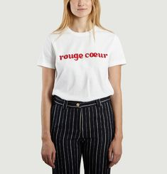 T-Shirt Rouge Coeur