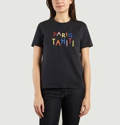 T-Shirt Paris Tahiti