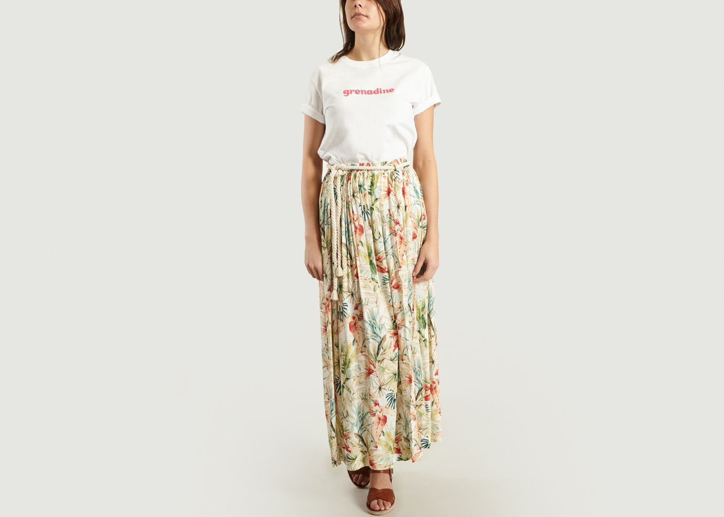 T-Shirt Coeur Grenadine - Tara Jarmon