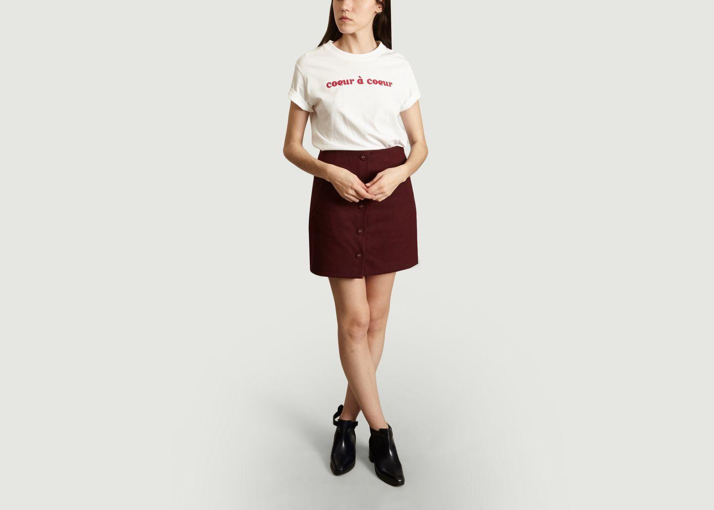 T-shirt MC Coeur - Tara Jarmon