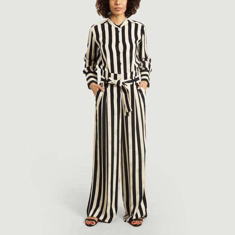 Chemise rayée avec motif coquillages - Tara Jarmon