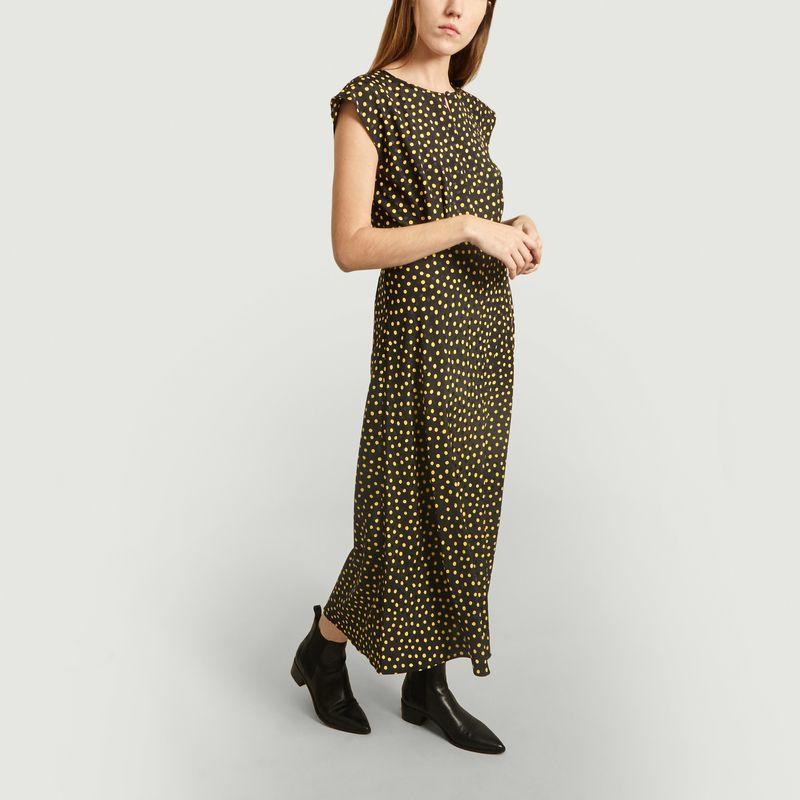 Robe Longue Manches Courtes A Pois - Tara Jarmon
