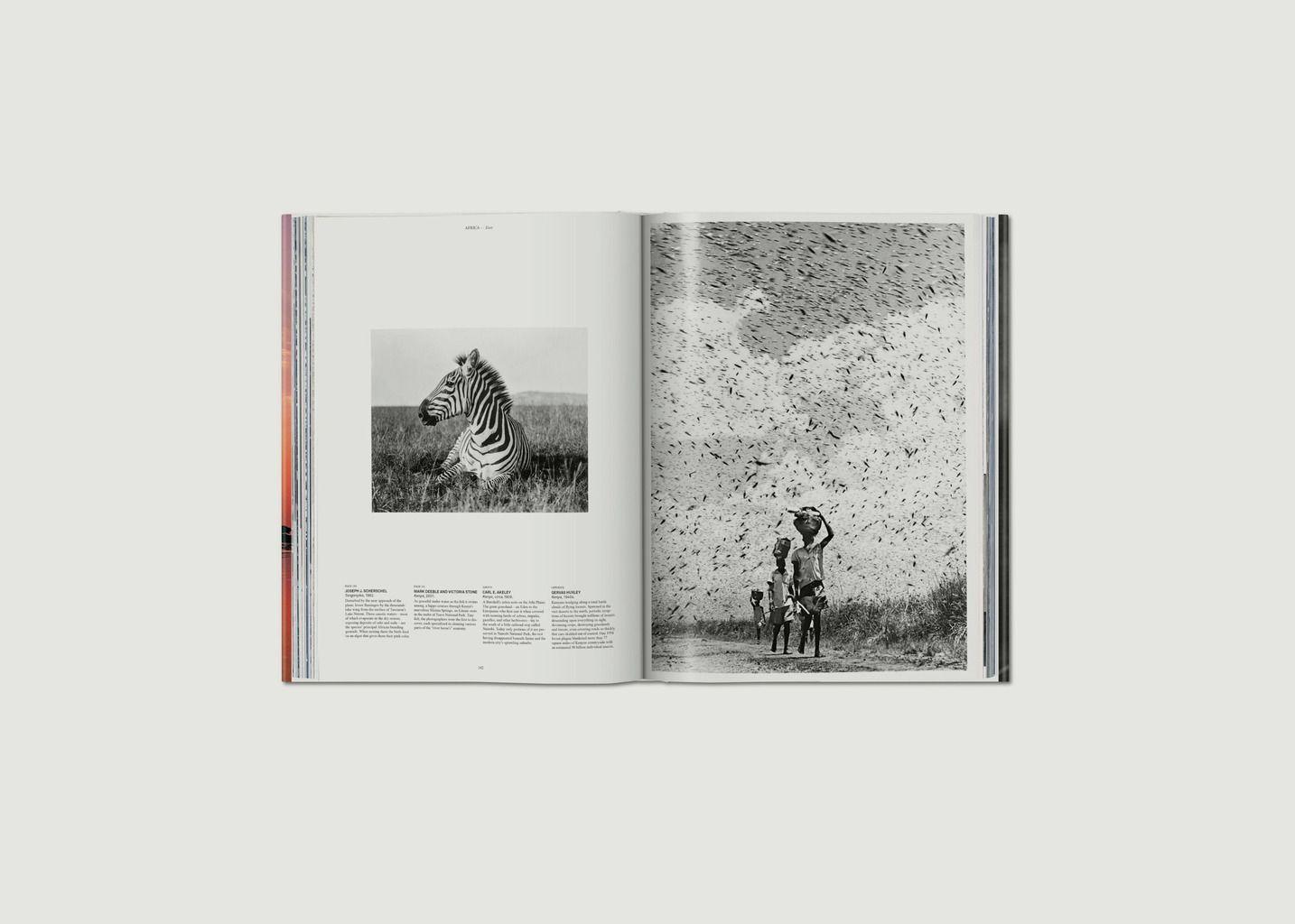 Livre National Geographic. Le Tour du monde en 125 ans. L'Afrique - Taschen