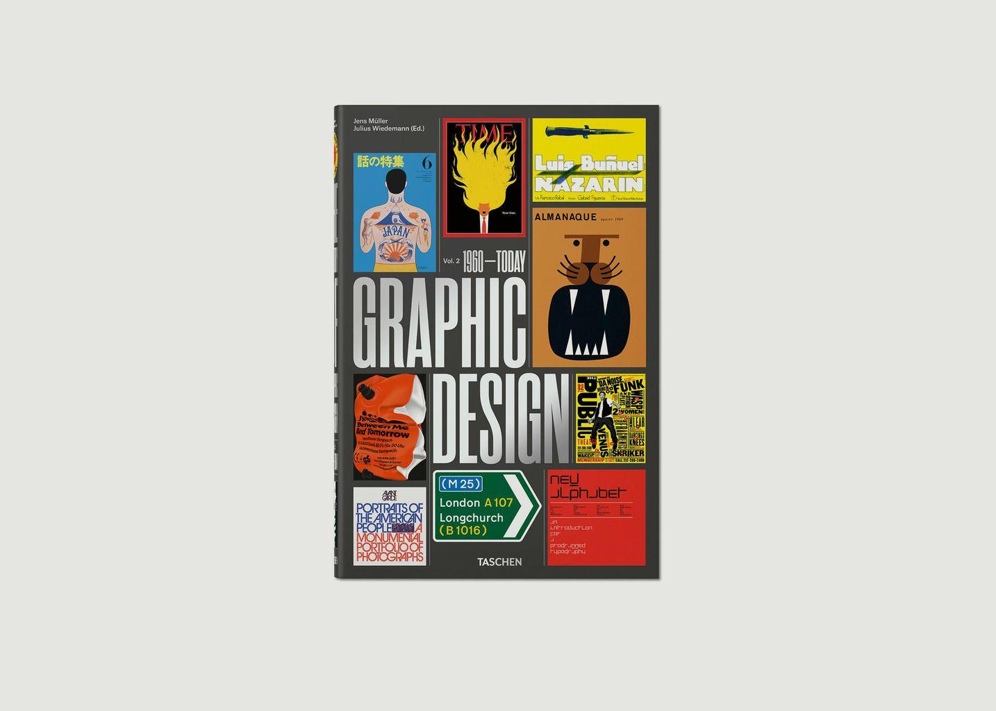 Livre Histoire du graphisme. Vol. 2, 1960 à nos Jours - Taschen