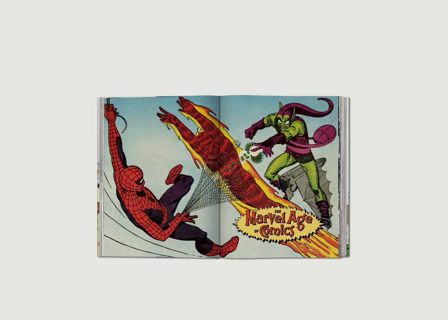 L'ère des Comics Marvel 1961–1978 - Taschen