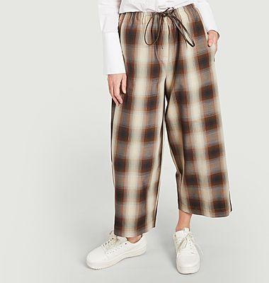 Pantalon à carreaux Nadim