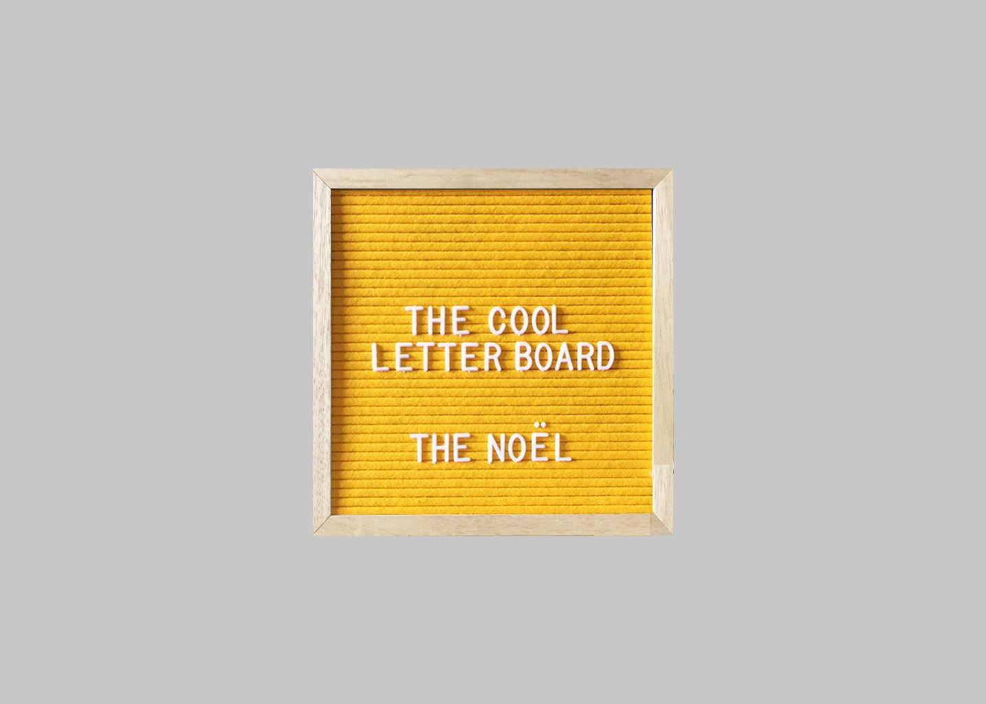 Letter Board The Noël  - The Cool Company