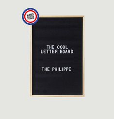 Letter Board The Bernard