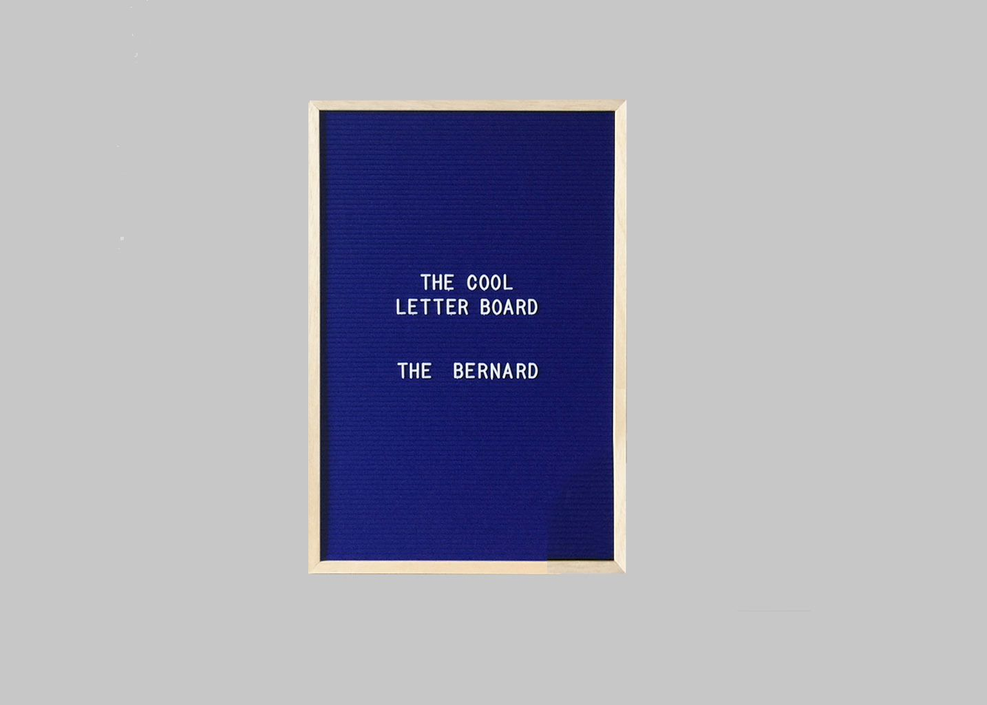 Letter Board The Bernard  - The Cool Company