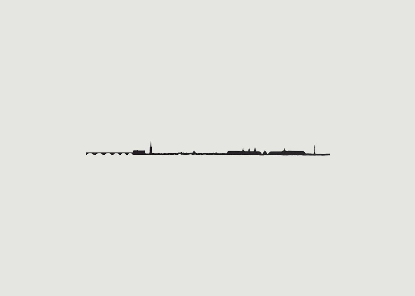 Silhouette Bordeaux - The Line