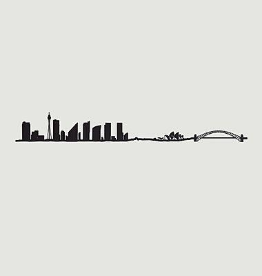 Silhouette von Sydney
