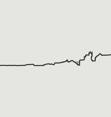 Silhouette Massif du Mont-Blanc