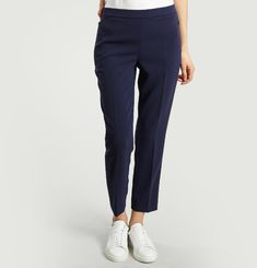 Pantalon Droit Cropped