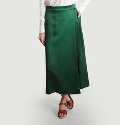 Satin Culotte Skirt